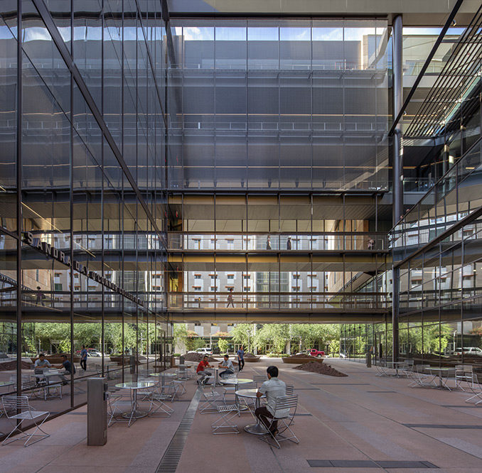 ASU Beus Center for Law & Society | Phoenix, Arizona, USA | Colwell Shelor Landscape Architecture