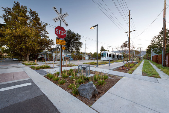 Sugar House S-Line Streetcar y Greenway | Salt Lake City, Utah | CRSA