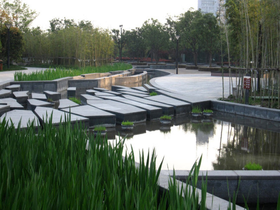 Hangzhou Nuevo CBD Waterfront Park | Hangzhou China | KI Studio